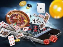 mobile cartes roulette dés jetons